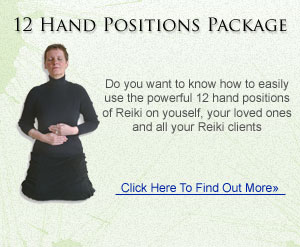 12 Hand Positions Of Reiki Package
