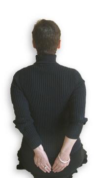 Reiki Hand Positions - Position 12