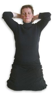 Reiki Hand Positions - Position 3
