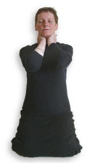 Reiki Hand Positions - Position 4