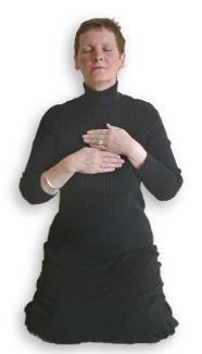 Reiki Hand Positions - Position 5