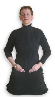 Reiki Hand Positions - Position 8
